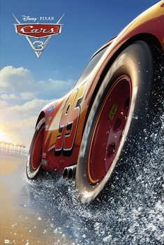 Cars 3 B плакат