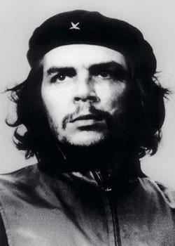 Che Guevara - bw. foto плакат