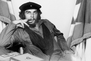 Che Guevara - cigar плакат
