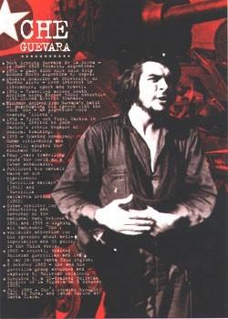 Che Guevara - facts плакат