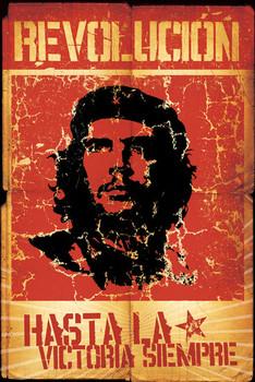 Che Guevara - revolution плакат