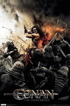 Conan The Barbarian - Sword 2011 плакат