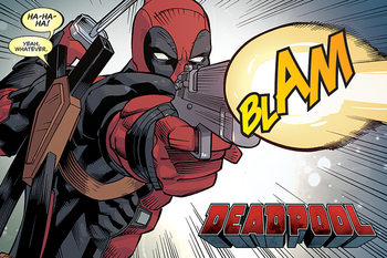 Deadpool - Blam плакат