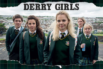 Derry Girls - Rip плакат