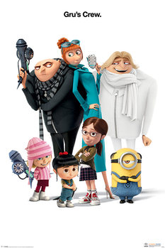 Despicable Me 3 - Gru's Crew плакат