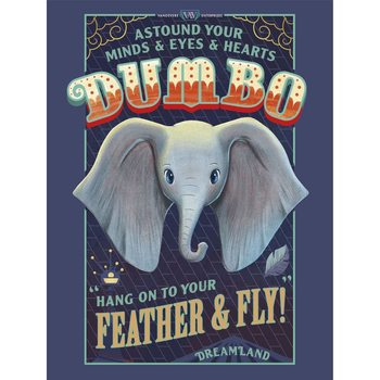 Disney - Dumbo плакат