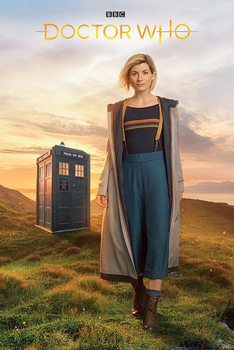 Doctor Who - 13th Doctor плакат