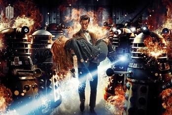 DOCTOR WHO - Doctor and Amy плакат