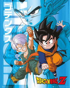 Dragon Ball Z - Trunks and Goten плакат