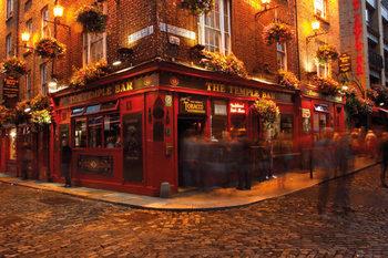 Dublin - Temple Bar - плакат
