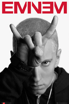Eminem - horns - плакат
