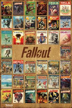 Fallout 4 - Magazine Compilation - плакат