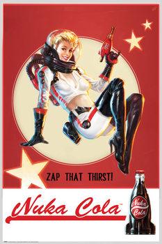 Fallout 4 - Nuka Cola плакат