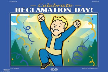 Fallout 76 - Reclamation Day плакат