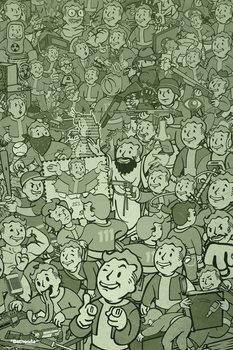 Fallout - Compilation плакат
