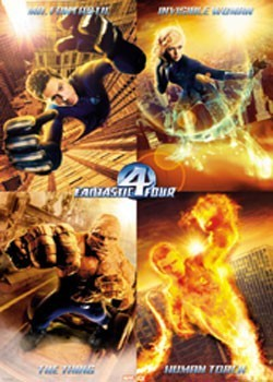 FANTASTIC FOUR  - Team плакат