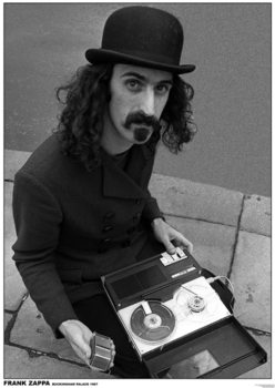 Frank Zappa - Buckingham Palace, London 1967 плакат