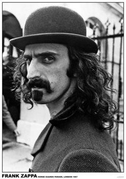 Frank Zappa - Horse Guards Parade, London 1967 плакат