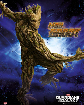 Guardians of the Galaxy - Groot - плакат