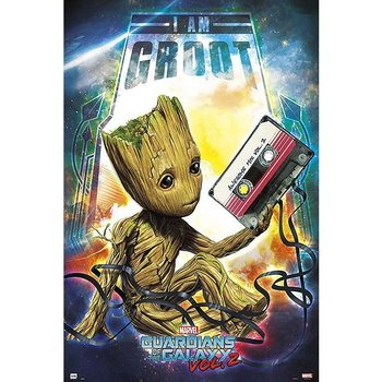 Guardians Of The Galaxy - I am Groot плакат