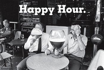 Happy Hour - плакат