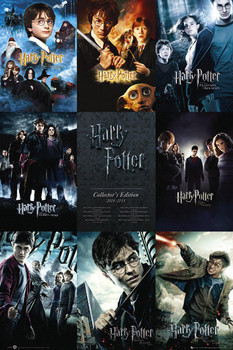 HARRY POTTER - collection - плакат
