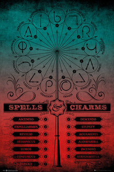 Harry Potter - Spells And Charms плакат