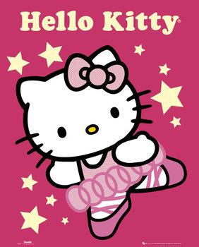 HELLO KITTY - ballerina  - плакат