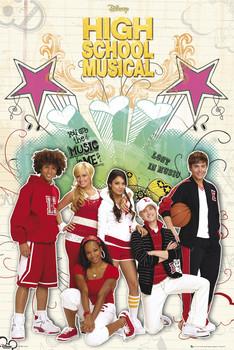 HIGH SCHOOL MUSICAL 2 - cast плакат