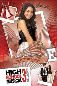 HIGH SCHOOL MUSICAL 3 - gabriella плакат