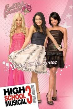 HIGH SCHOOL MUSICAL 3 - girls плакат