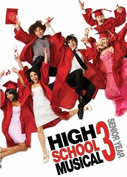 HIGH SCHOOL MUSICAL 3 - graduation jump плакат
