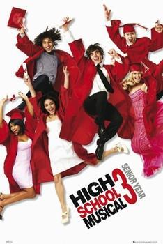 HIGH SCHOOL MUSICAL 3 - one sheet плакат