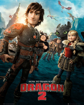 How to Train Your Dragon 2 - One Sheet - плакат