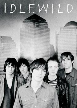 Idlewild - band shot - плакат