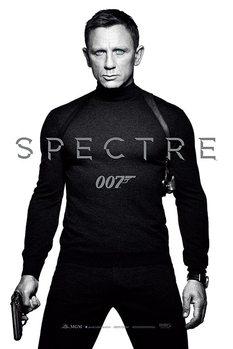 James Bond: Spectre - Black and White Teaser - плакат