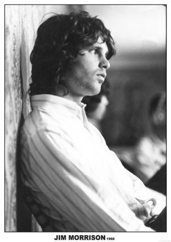 Jim Morrison - The Doors 1968 плакат