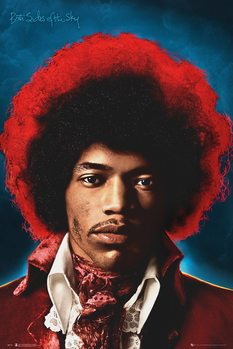 Jimi Hendrix - Both Sides Of The Sky плакат
