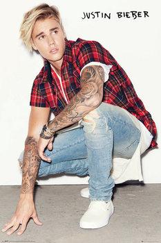 Justin Bieber - Crouch - плакат