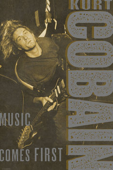 Kurt Cobain - Rexroad плакат