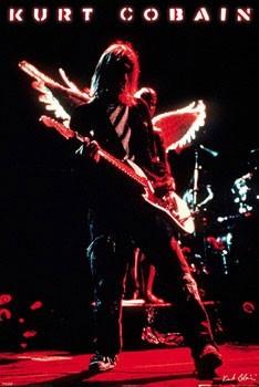 Kurt Cobain - wings плакат
