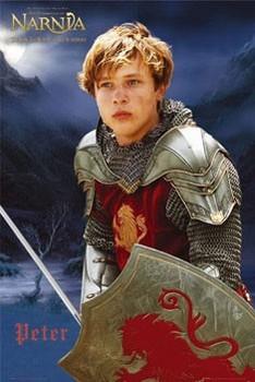 LETOPISY Z NARNIE - Peter sword плакат