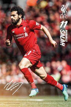 Liverpool - Mohamed Salah 1819 плакат