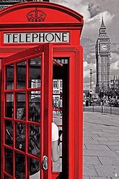 London - Cabina плакат