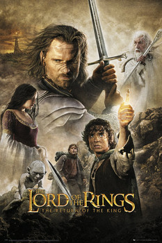 LORD OF THE RINGS - return of the king one sheet - плакат