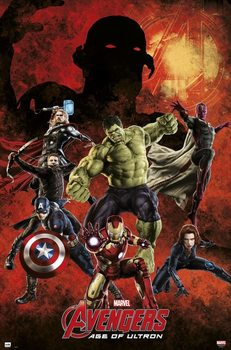 Marvel - Avengers age of Ultron плакат