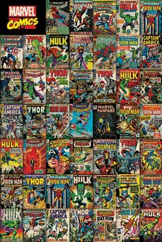 Marvel Avengers Covers - плакат