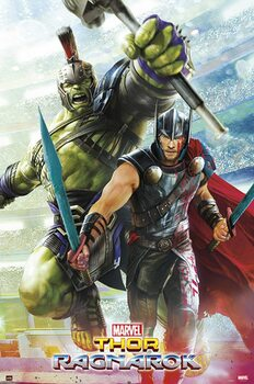 Marvel - Thor Ragnarok плакат