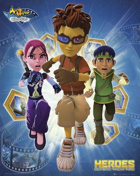 Matt Hatter - Heroes плакат