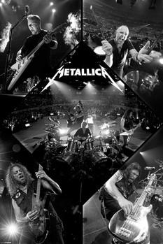 Metallica - live - плакат